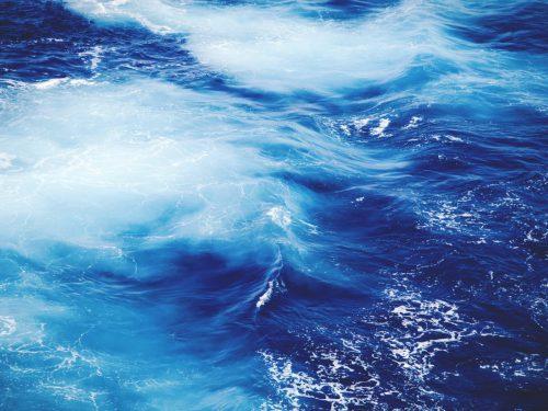 At sea depth